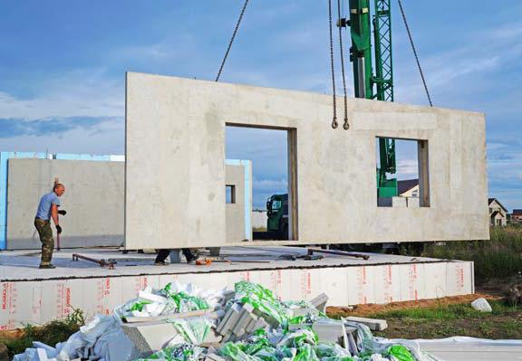строительство домов из стеновых панелей жби