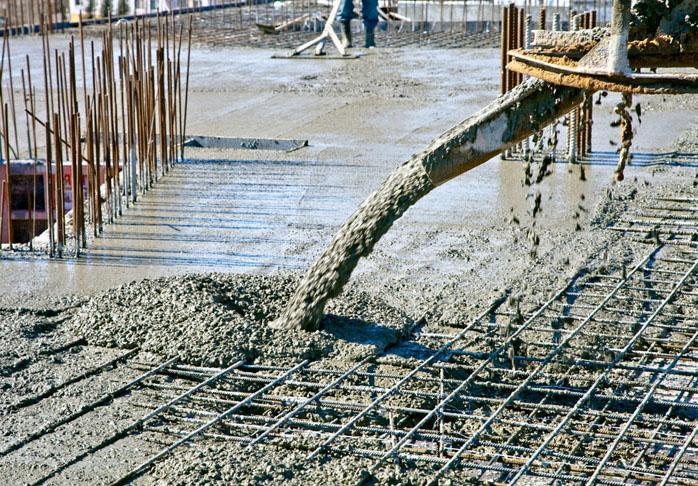 заливка бетоном м350