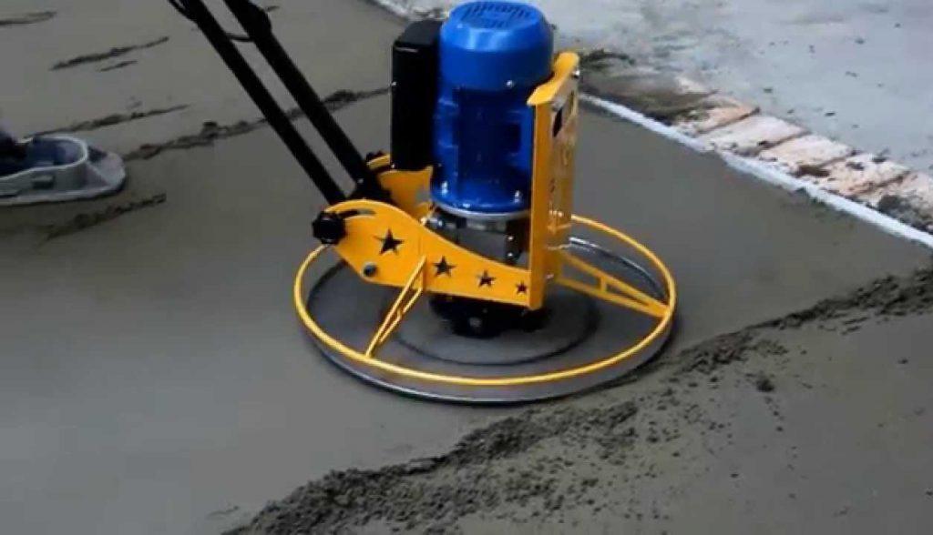затирка бетона