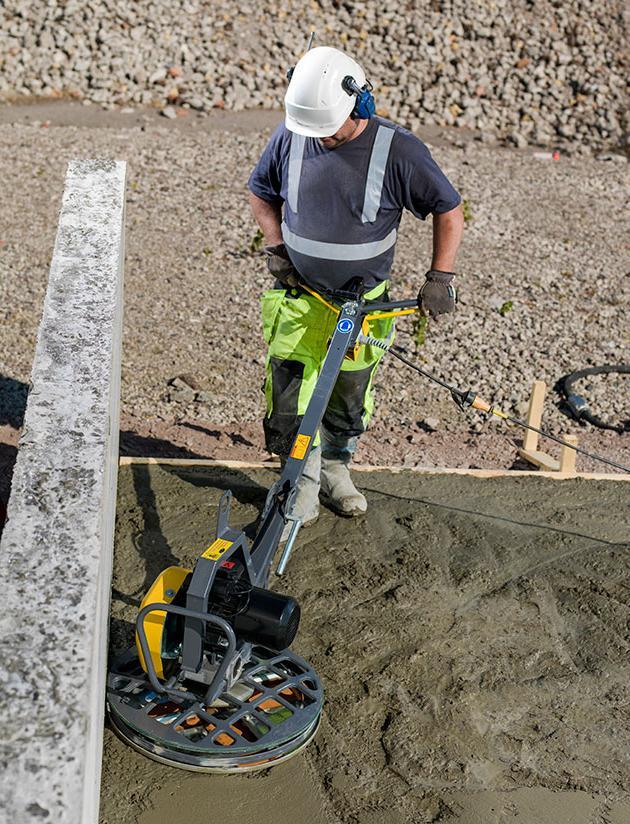 затирка бетонного покрытия