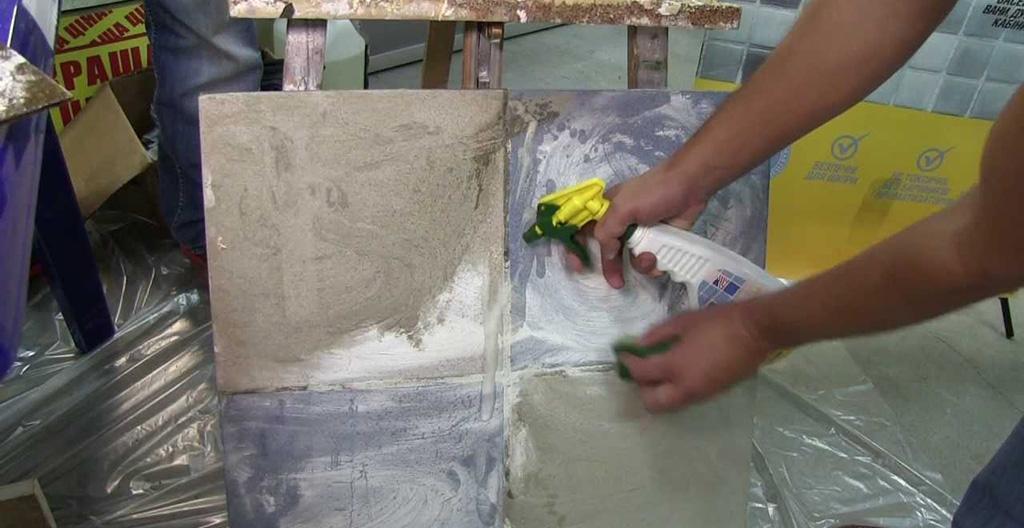 Растворитель для смывки следов цемента