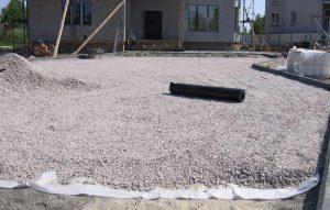 Гидроизоляция основания под укладку тротуарной плитки