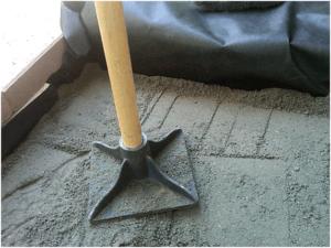 Песчаная подсыпка