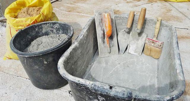 что нужно для работы с бетоном
