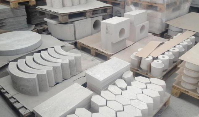 изделия из жаропрочного бетона
