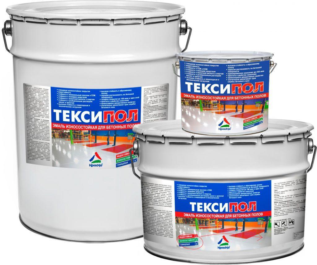 износостойкая эмаль для бетона