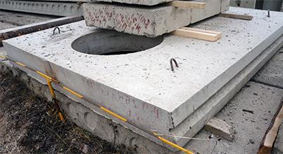 канальные плиты перекрытия с отверстиями под люк