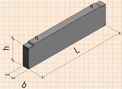 конструкция прогонов железобетонных