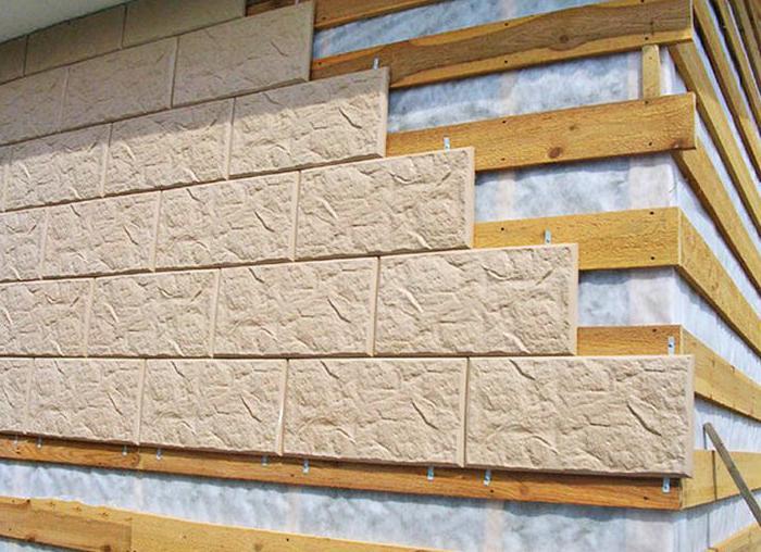 крепление бетонной фасадной плитки