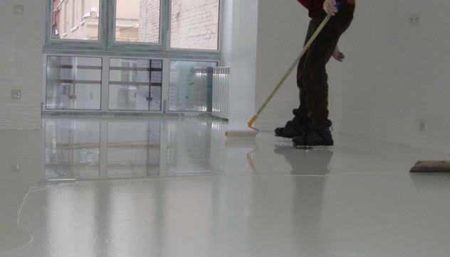 обработка бетона упрочнителем