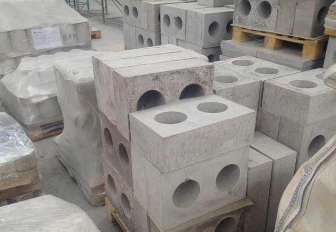 огнеупорный бетон