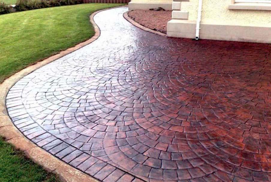 Штампованный бетон формы бетон контакт купить в леруа мерлен