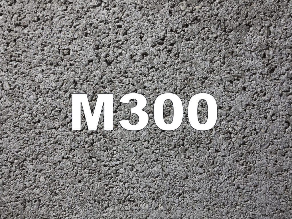 пескобетон м300 характеристики