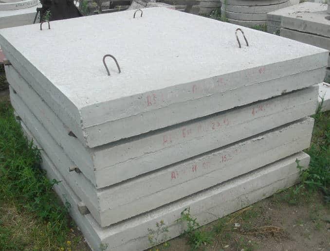 плиты тротуарные бетонные