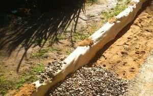 Песчаная подушка и материалы