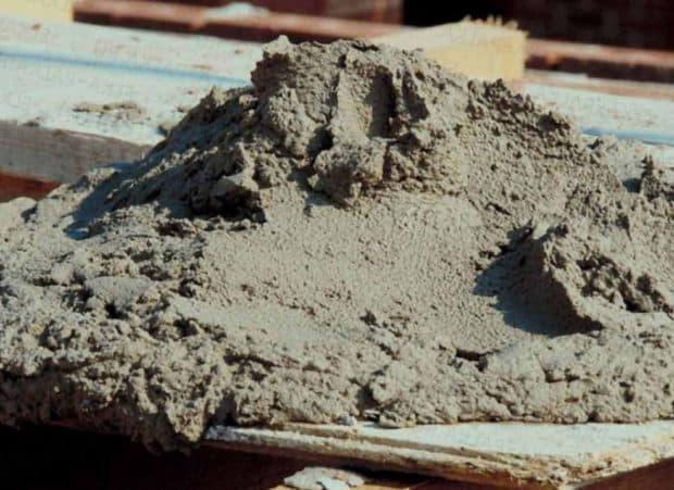 приготовление пескобетона своими руками