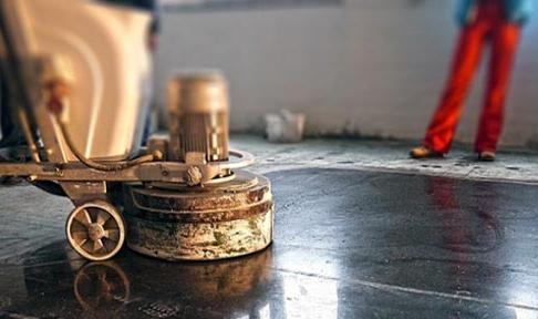 профессиональная полировка бетона