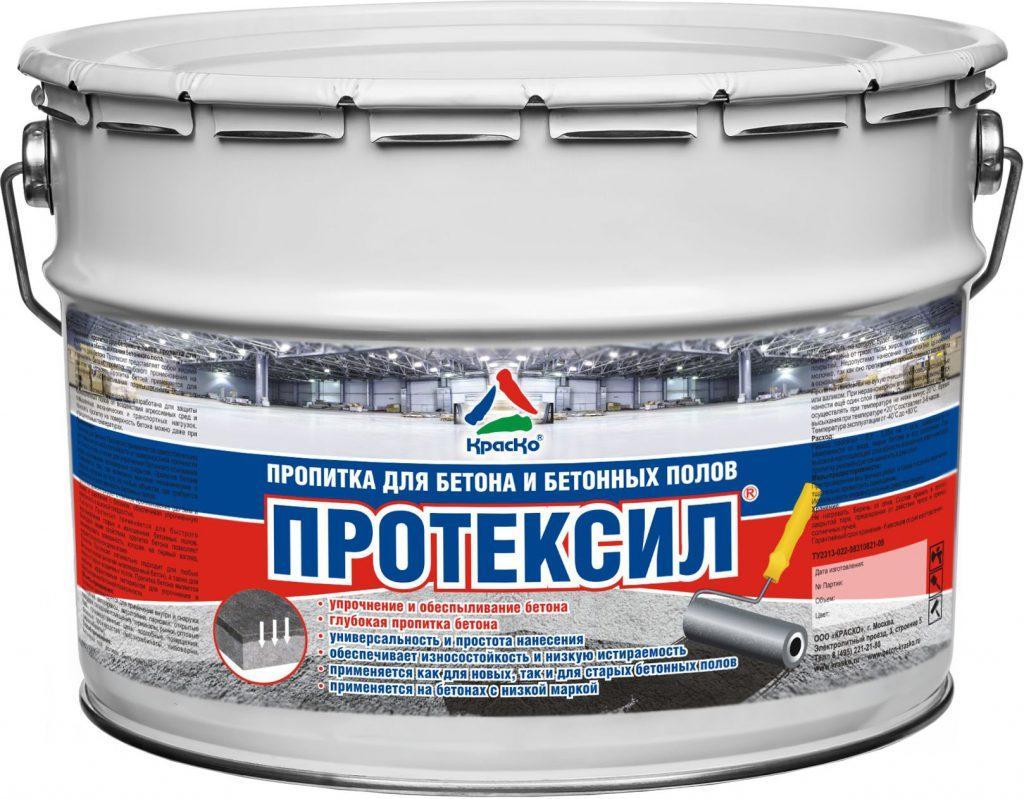 пропитка для бетона протексил