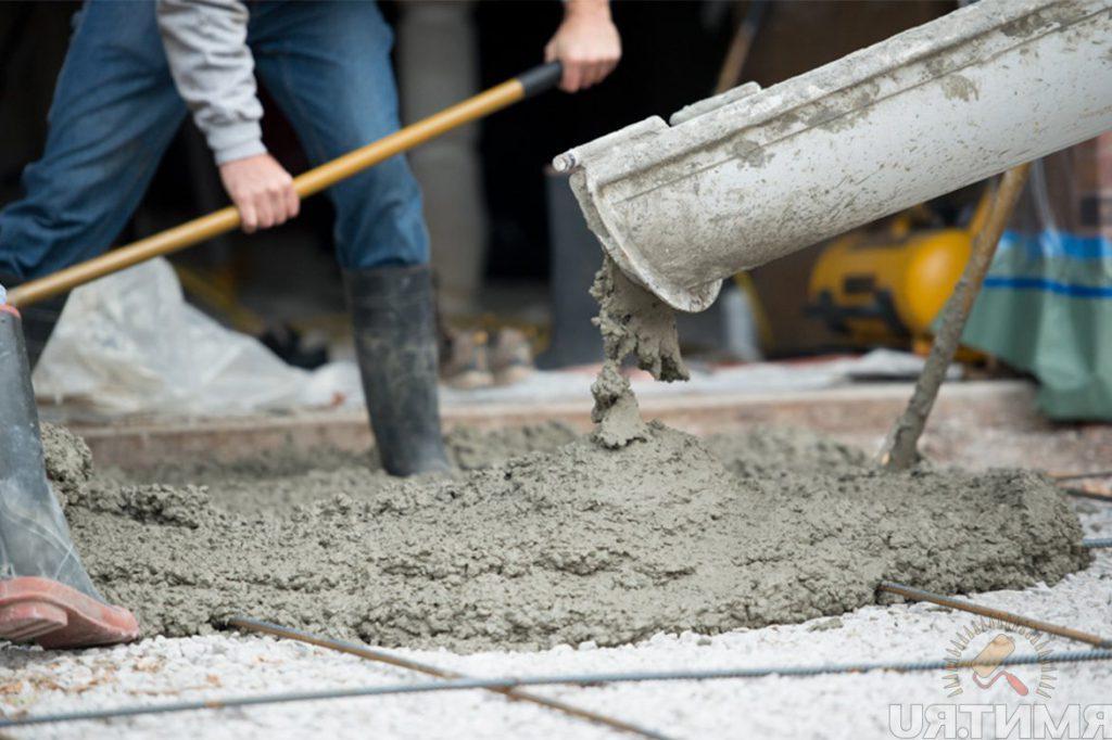 работа с пуццолановым цементом
