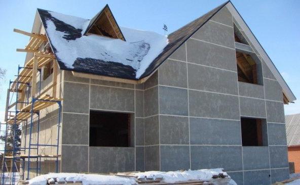 строительство из цементно-стружечных плит