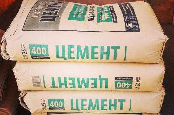 цемент для замеса бетона ведрами