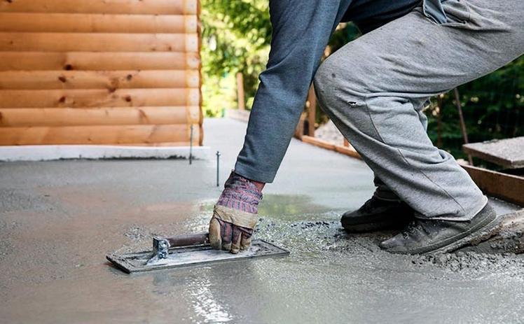 защита бетонной отмостки