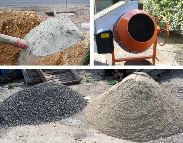бетон своими руками основные компоненты