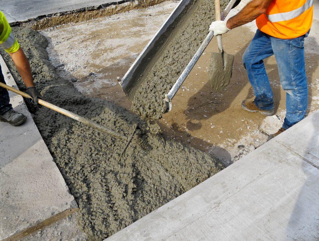 что представляет собой тощий бетон