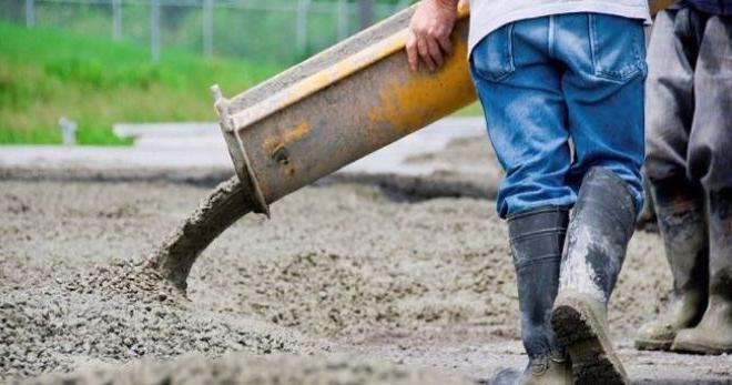 для чего нужен тощий бетон