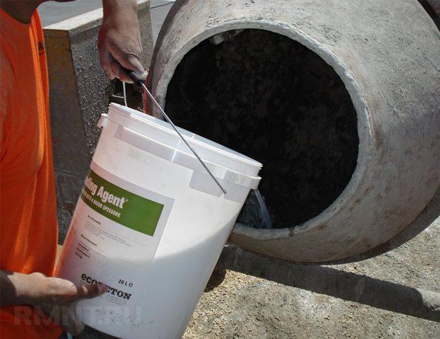 добавление пластификатора в цементный раствор