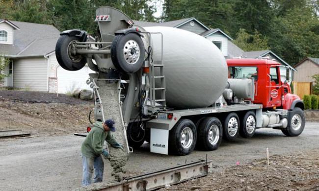 доставка бетона камазом