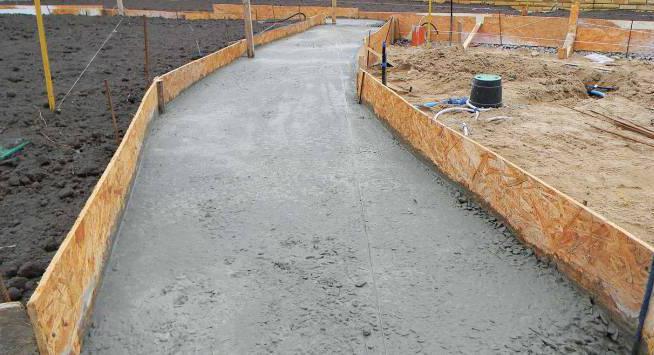 где применяется тощий бетон