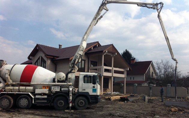 использование камаза для перевозки бетона