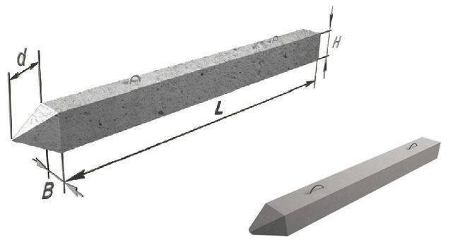 использование железобетонных свай в строительстве