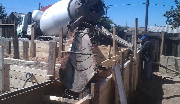 как бетон подается через камаз