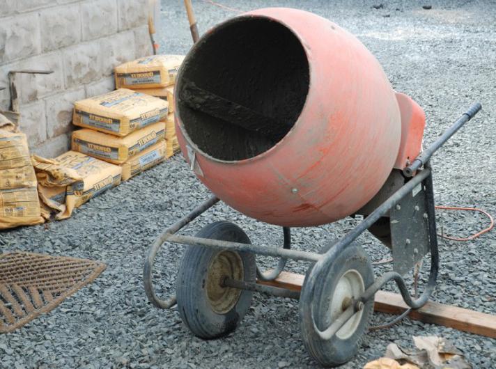 как отремонтировать старую бетономешалку