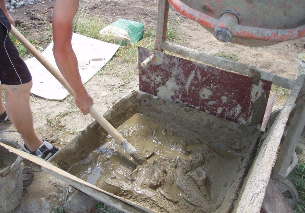 Как правильно приготовить цементный раствор
