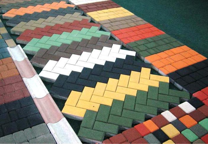 какая бывает бетонная тротуарная плитка