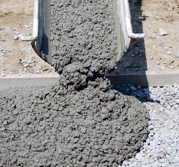 коэффициент теплопроводности монолитного бетона