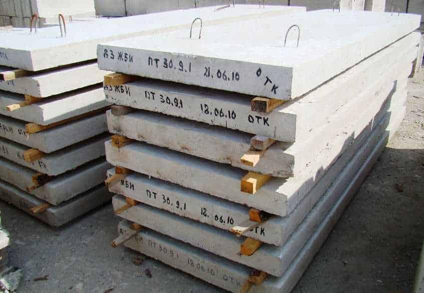 маркировка плит перекрытий как выполняется