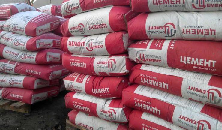 объем цемента в мешке 50 кг