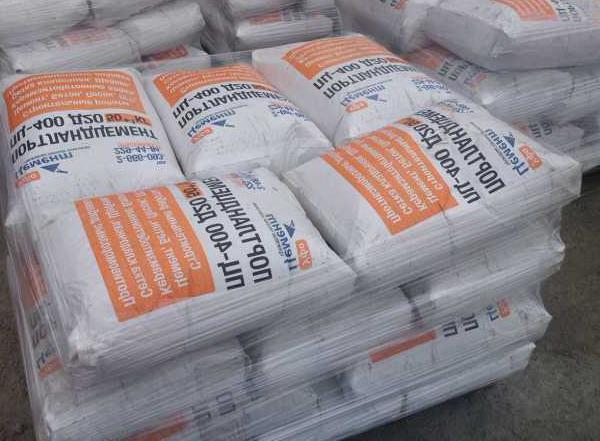 объем цемента в мешке бетона