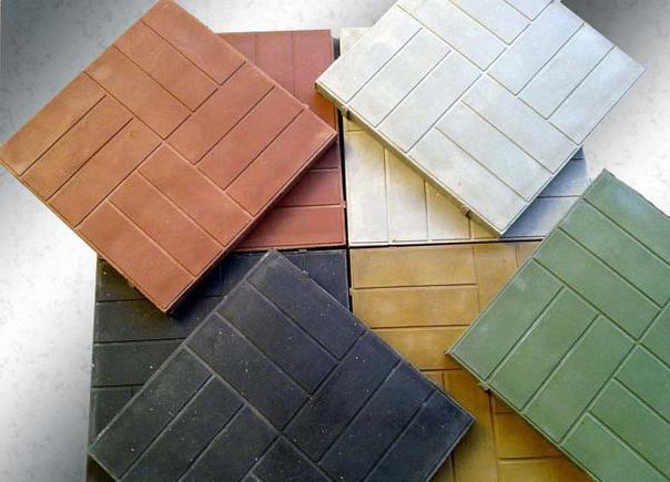 полимерпесчаная плитка применение