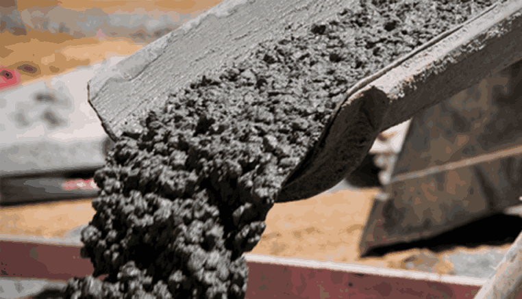 приготовление цемента для заливки фундамента