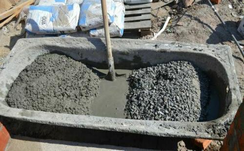приготовление тяжелого бетона