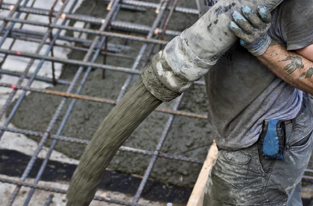 применение товарного бетона