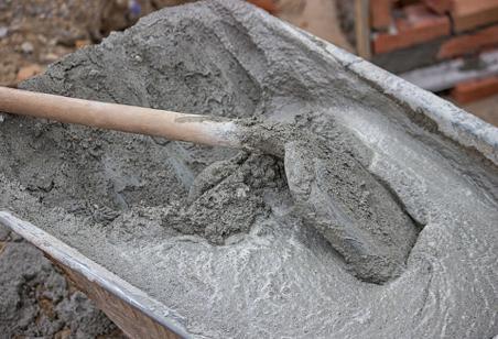 работа с цементным раствором