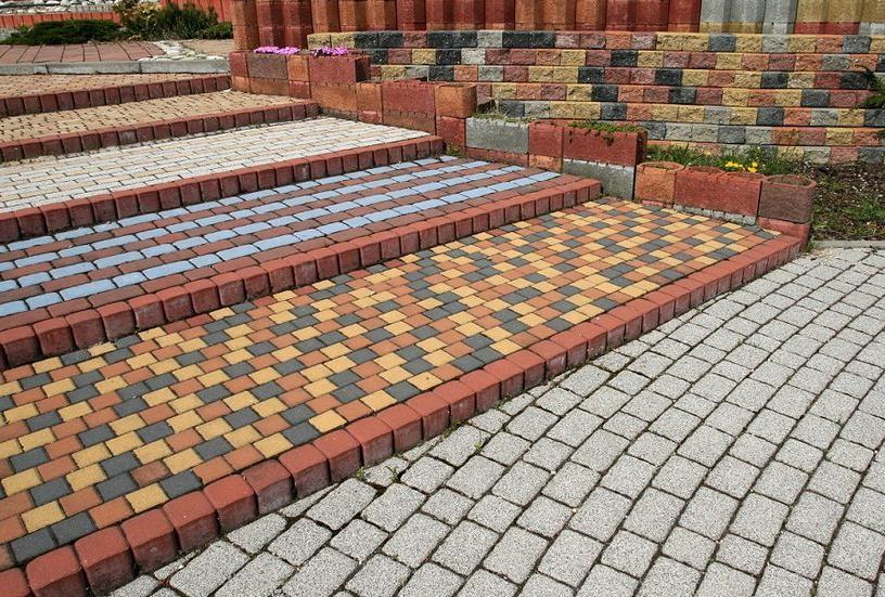 разновидности бетонной тротуарной плитки