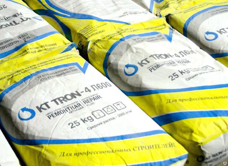 ремонтный состав для бетонного пола