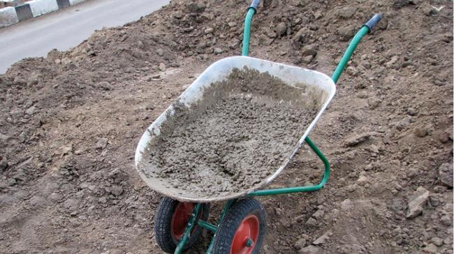 сколько нужно цемента для приготовления бетонного раствора